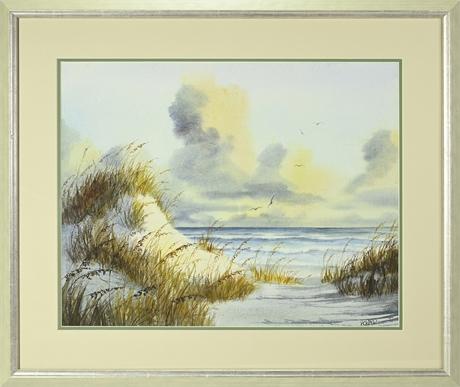 Howard Watercolor Seascape