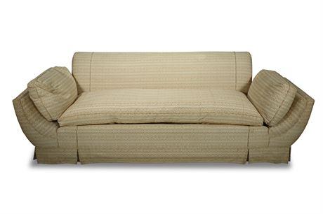 Victorian Era Filled Sofa
