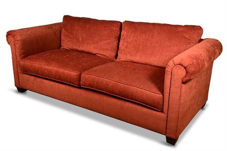 Elegant Bolster Sofa By Rowe