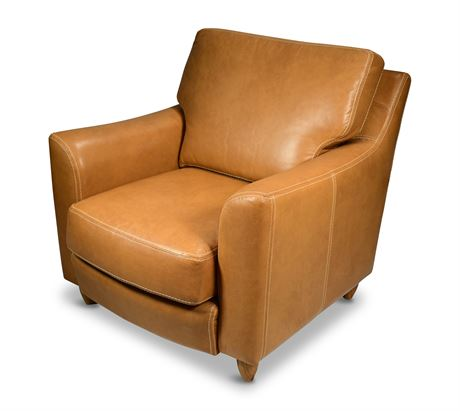 Great Texas Leather Chair by Arizona Interiors
