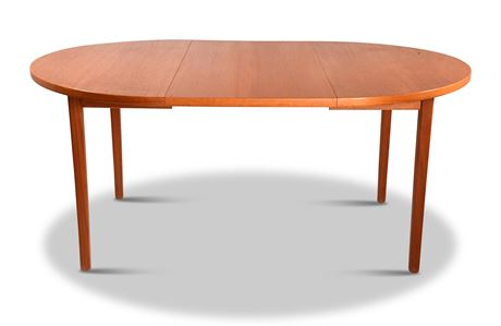 Swedish Teak Dining Table by Ulferts