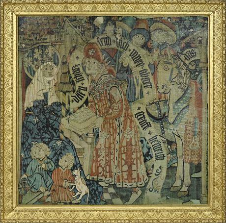 Gilded Framed Religious Print