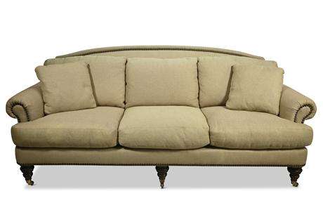 Lillian August Nailhead Sofa