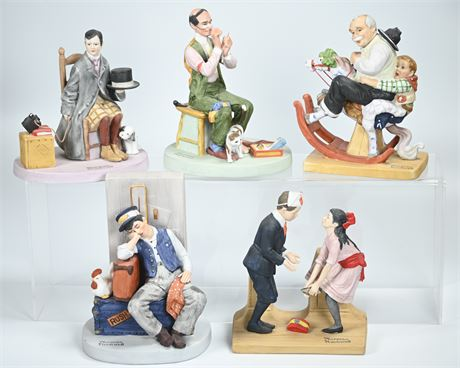 Danbury Mint Norman Rockwell Collectibles