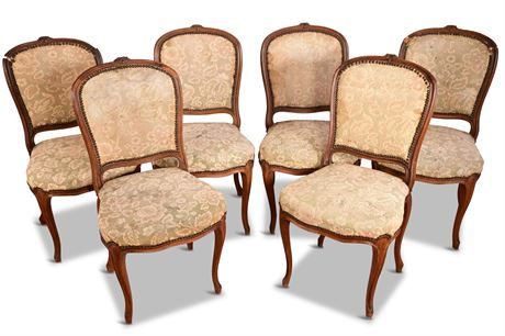 AS IS Antique French Carved Chairs