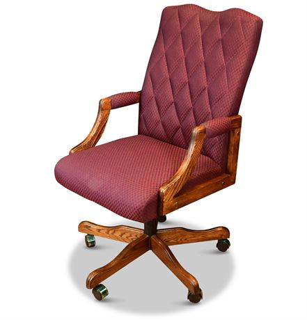 Upholstered Executive Office Chair
