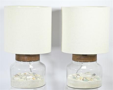 Beach Theme Terrarium Style Lamps