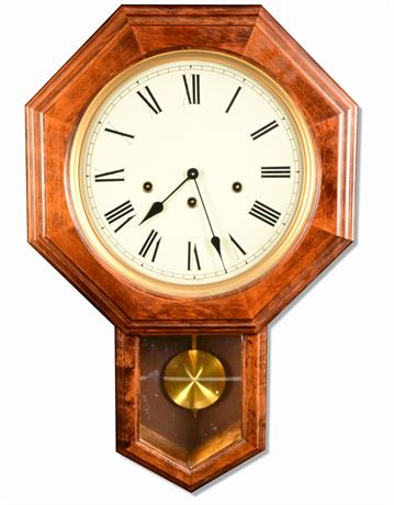 Vintage West German Wall Clock