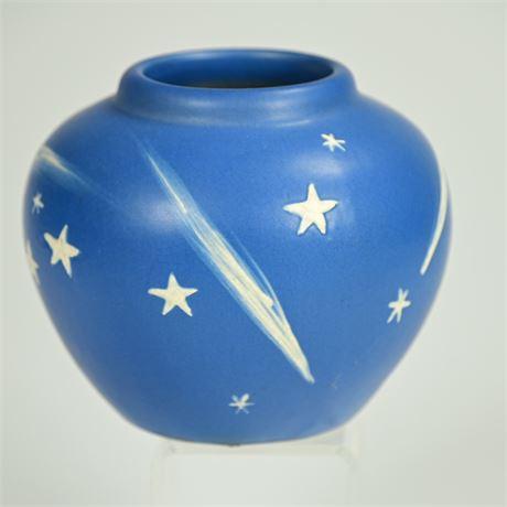1930's Weller Art Pottery Stellar Vase
