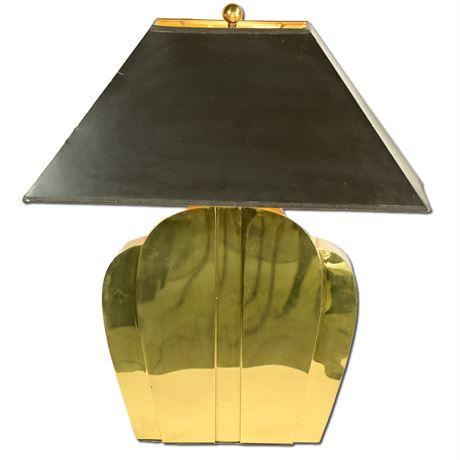 Vintage Chipman Brass Table Lamp