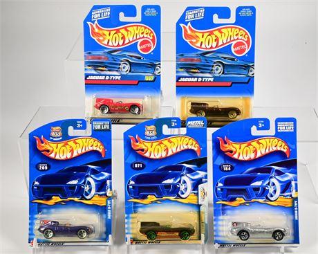 Hot Wheels Jaguar D-Type
