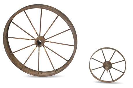 Antique Iron Wheels