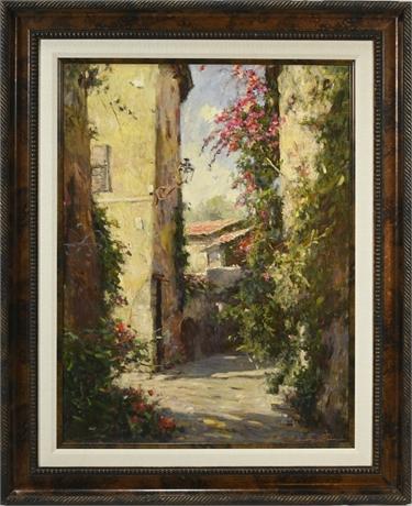 Tuscan Street Scene