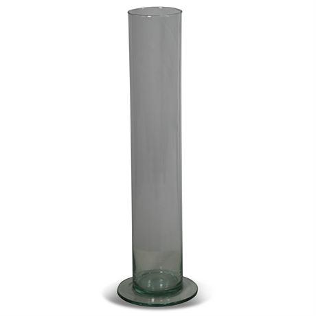 Pair Hand Blown Vases