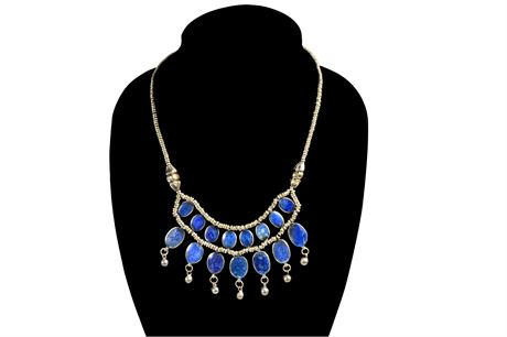 Lapis Necklace From India