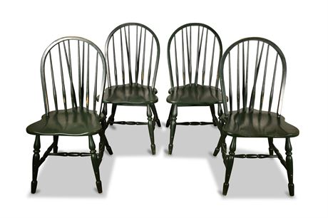 Vintage Cochrane Oak Dining Chairs