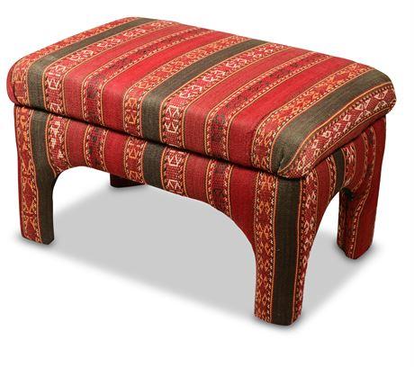 Kilim Style Bench