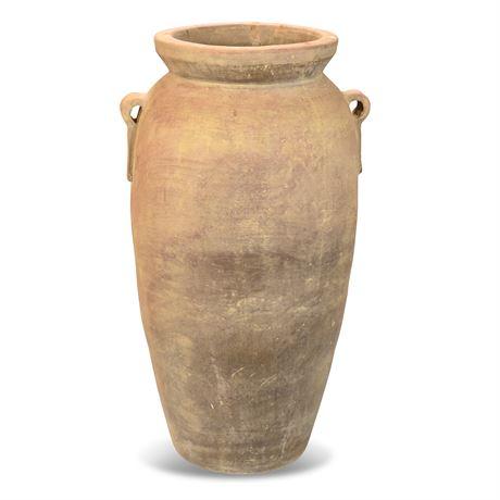 Giant Terracotta Floor Vase