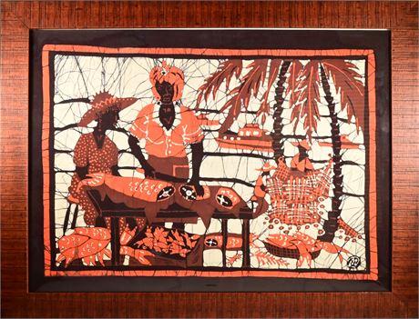 Batik on Silk