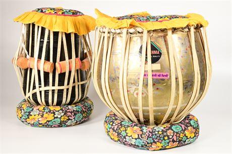 Pair of Tabla Hand Drums