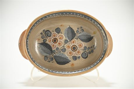 Vintage Tonala Serving Bowl