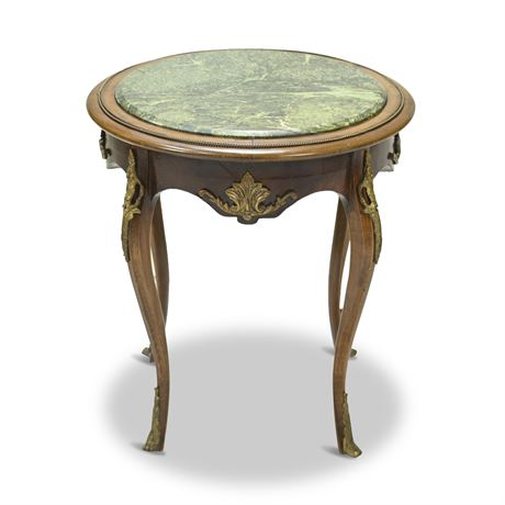 Louis The XV Marble Top Table