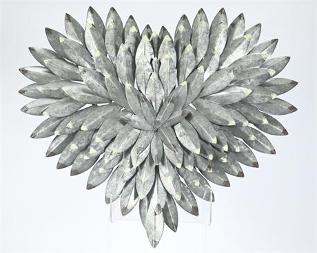 Heart Shaped Metal Art