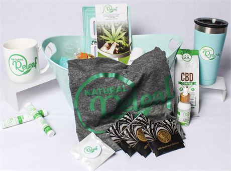 CBD Basket by Natural Releaf