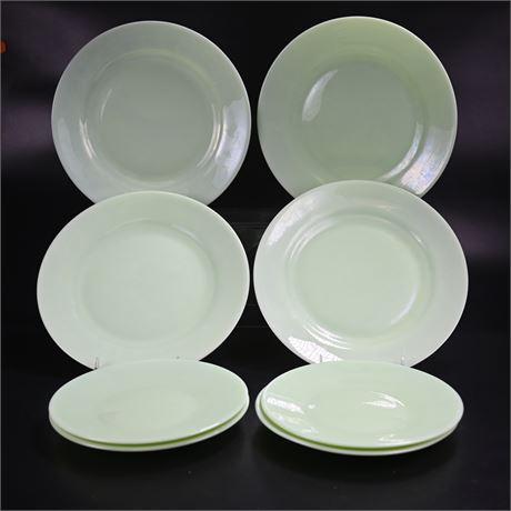 Vintage Jadeite Plates