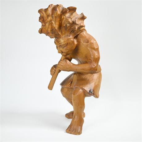 J. Toner Kokopelli Sculpture