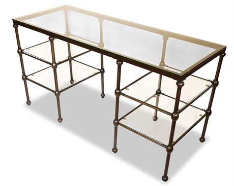 Thornton Glass Writing Desk