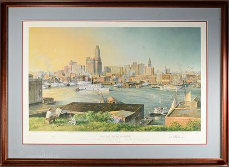 Old Baltimore Harbor Print