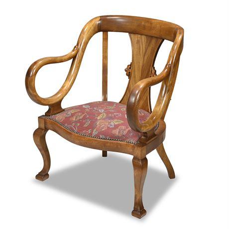19th Century Gondola Chair