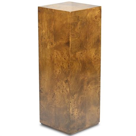 Mid-Century Walnut Pedestal