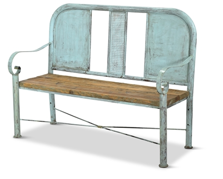 1940's Bed Bench