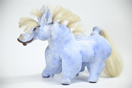 Whimsical Horse Sculpture by Brewer