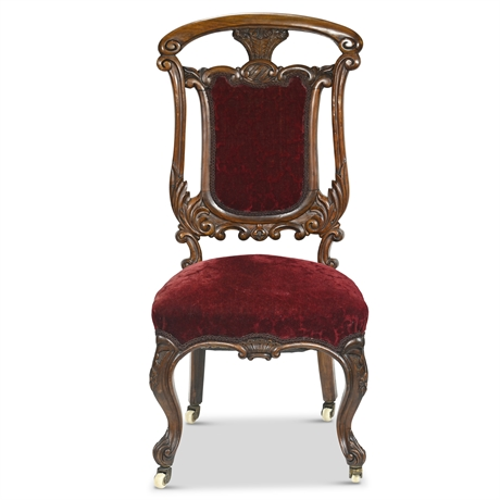 Antique Rococo Side Chair