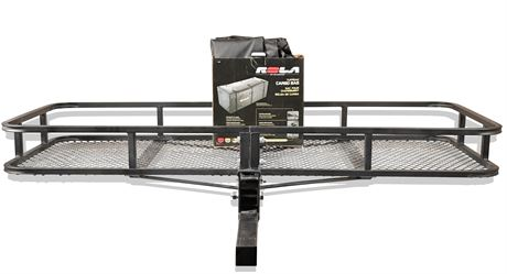 "60"" x 24"" Hitch Mounted Cargo Carrier"