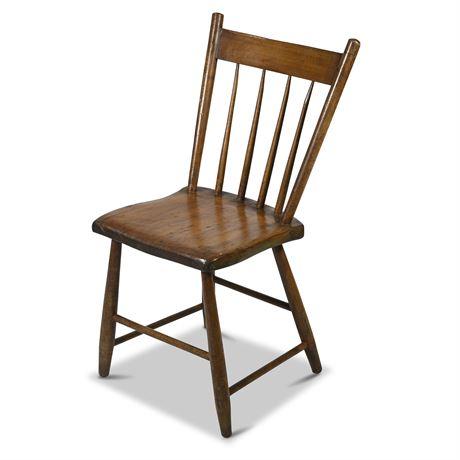 Primitive Antique Spindle Chair