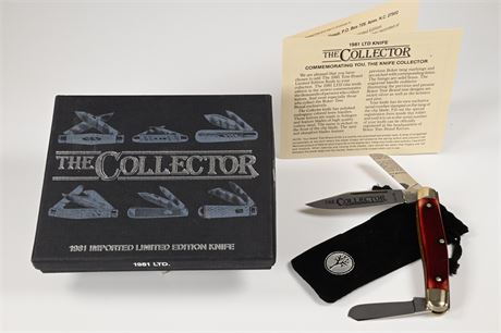 NOS The Collector Limited Edition Knife by Boker