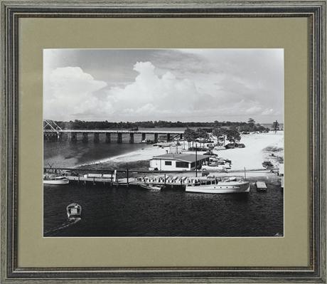 1950's Fort Walton Beach Framed Photographs