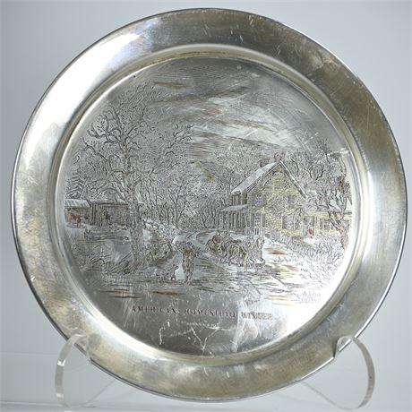STERLING SILVER: 7.52 OZT Danbury Mint