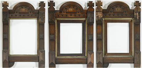 Antique Gothic Station of The Cross Frames