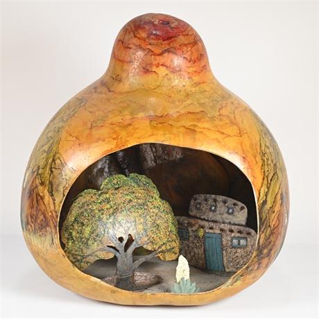 Exceptional 3D Gourd Sculpture