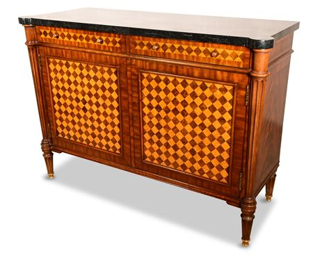 Maitland Smith Marble Top Sideboard