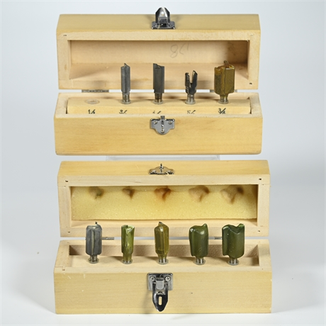 Pair Router Drill Bits
