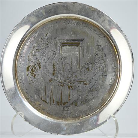 STERLING SILVER: 7.64 OZT Danbury Mint