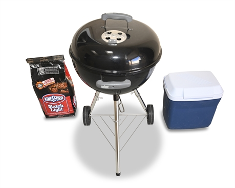Weber Charcoal Grill with Cover