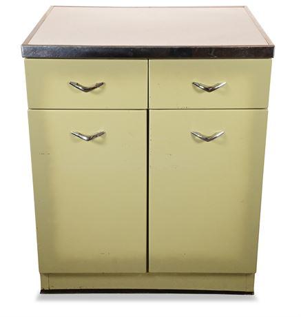 Vintage 1950's Metal Cabinet