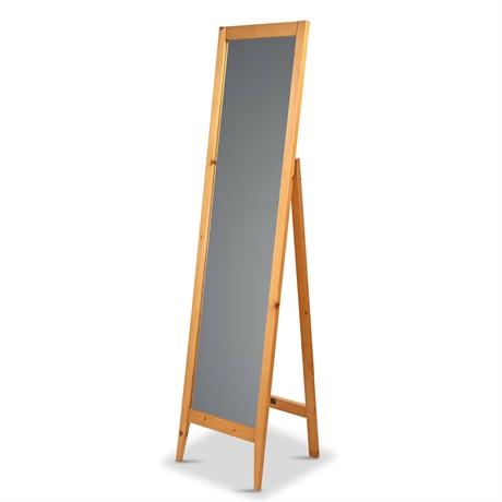 Custom Contemporary Floor Standing Mirror